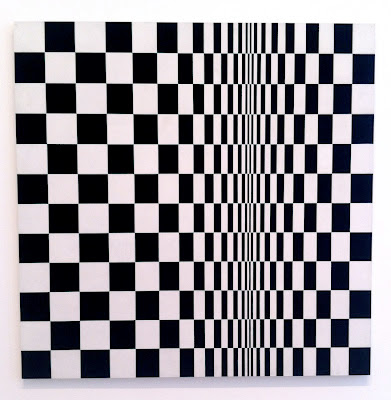 Bridget Riley exhibition in London