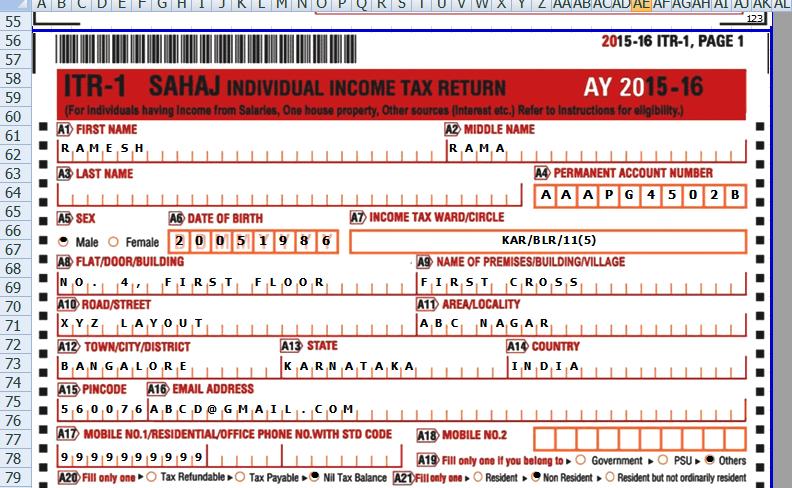 Income Tax Itr 4 Form 2015-16 Pdf