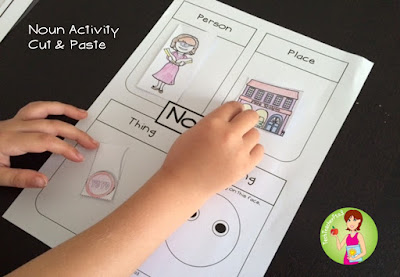 https://www.teacherspayteachers.com/Product/Nouns-An-Introduction-Activity-and-Poster-Set-2127390