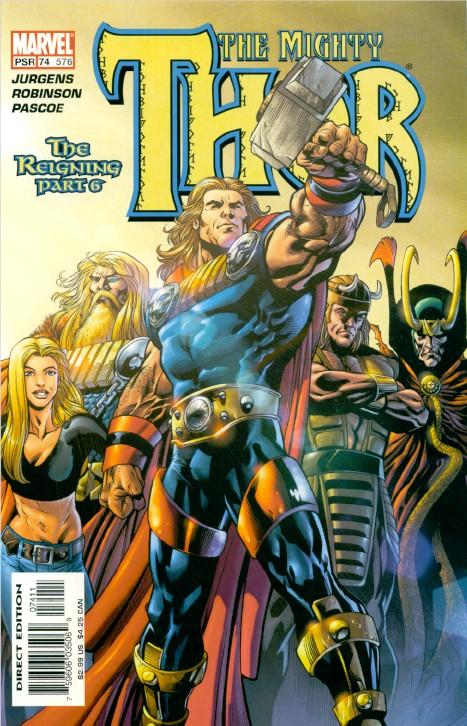 Galería de Portadores del Mjolnir - Magni Thor