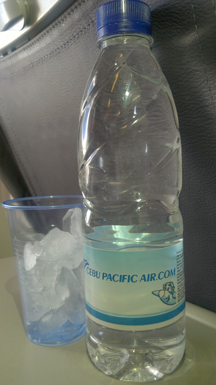 Place: Cebu Pacific Air - Mineral Water