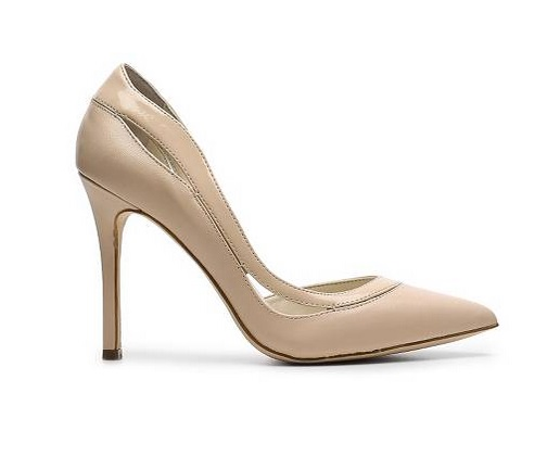 BCBG Generation Nude d'orsay high heeled pmp