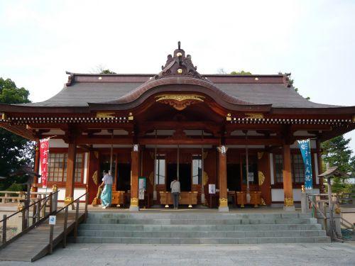 大石神社(赤穂)拝殿