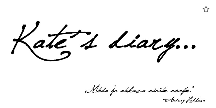 Kate´s diary