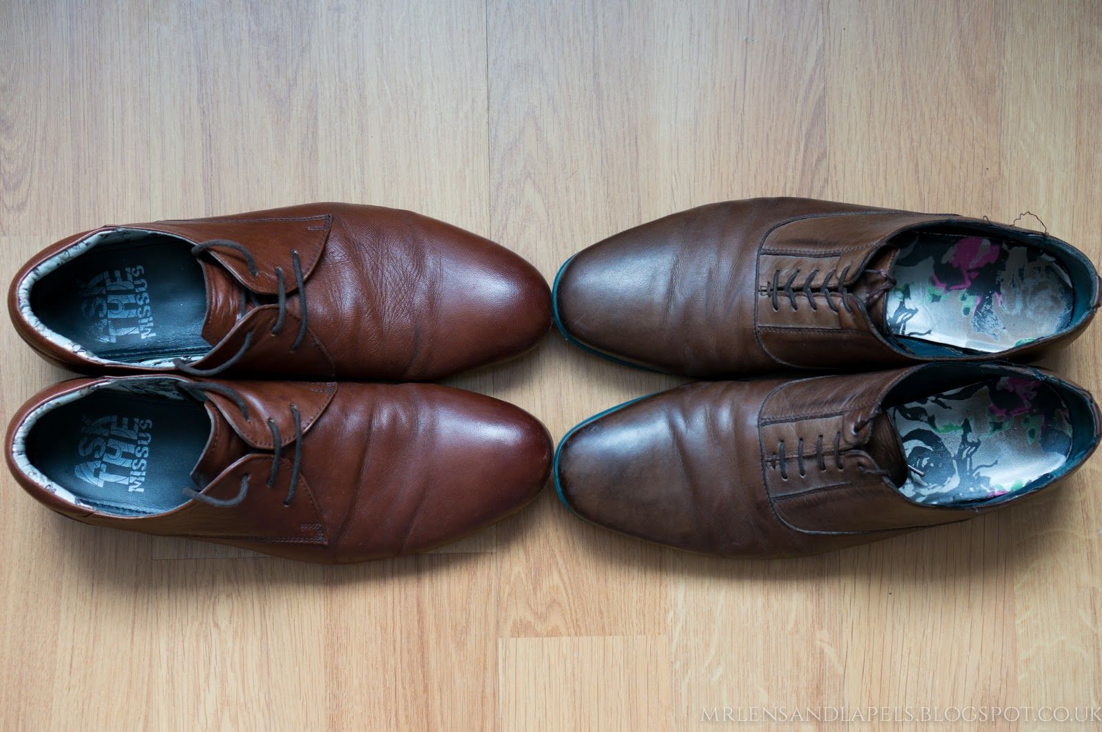 Leather shoes Ask the missus Ted Baker