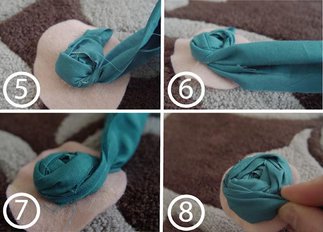 Как сделать цветы из ткани для украшения своими руками