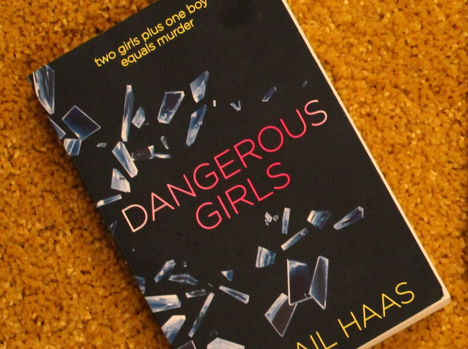 Gingerbread Smiles - Book Review, Abigail Haas - Dangerous Girls