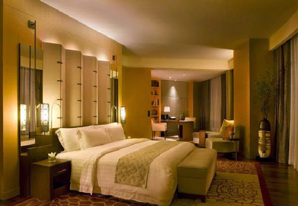 Hotel room design for Hotel room interior