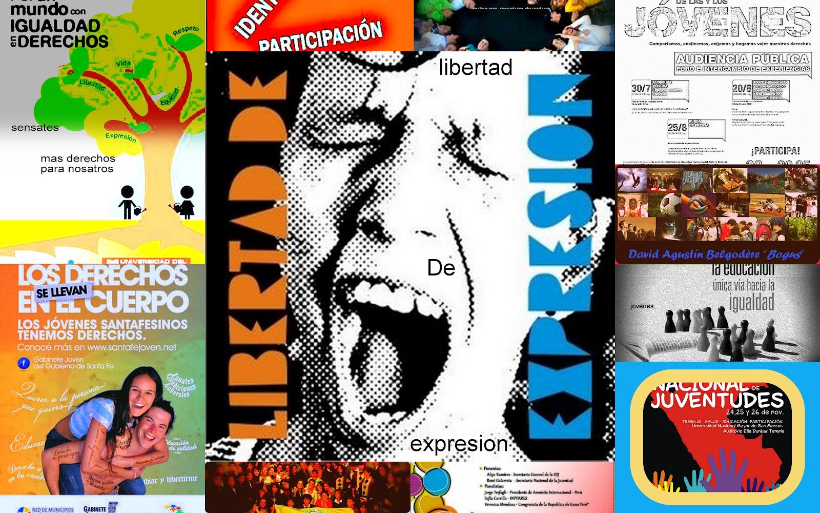 collage de los derechos de los jovenes