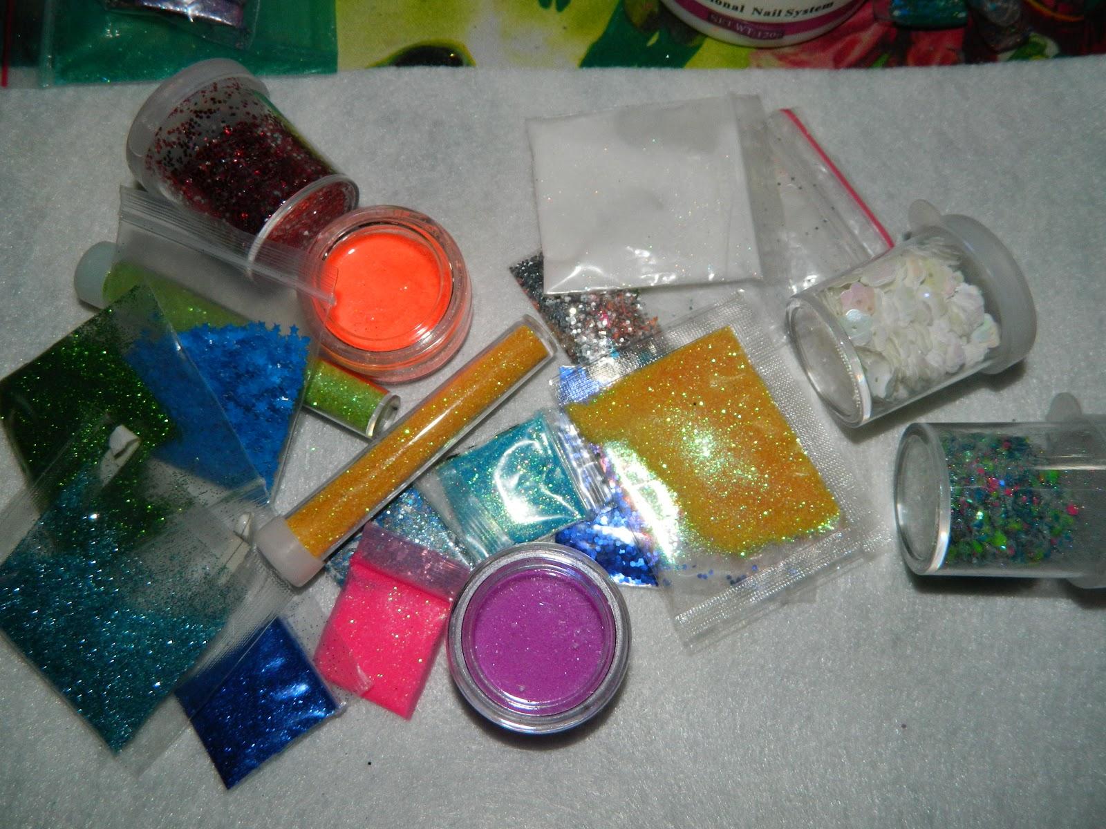 cutting edge polish : glitter and acrylic nails = # 2 use for nail ...