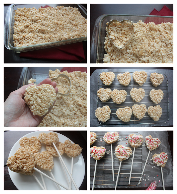 ... butter, mix in marshmallows until melted, then stir in cereal. Ta-dah