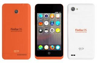 Inilah Sosok dan Spesifikasi Lengkap Ponsel Firefox OS