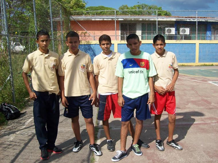 CAMPEONATO DE FUTBOL SALA FEB.2012