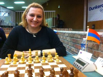 Elina Danielian - Photo © Chess & Strategy