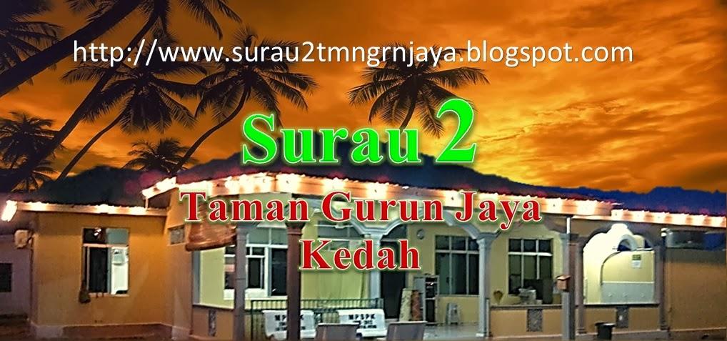 SURAU II TMN. GURUN JAYA