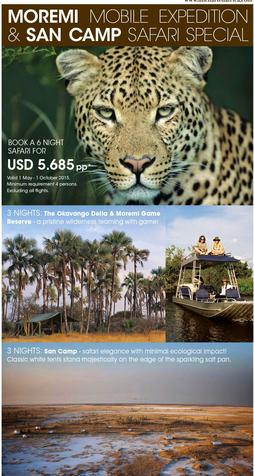Uncharted Africa Botswana San Camp Special