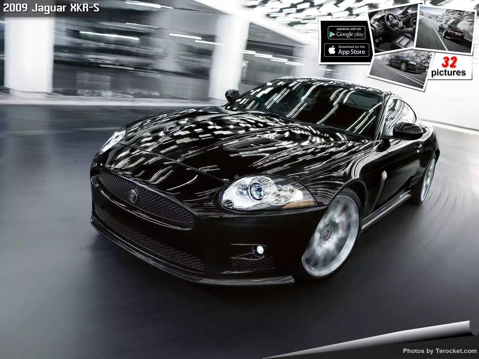 Hình ảnh xe ô tô Jaguar XKR-S 2009 & nội ngoại thất