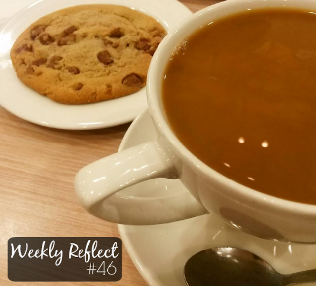 weekly reflect coffee cookie
