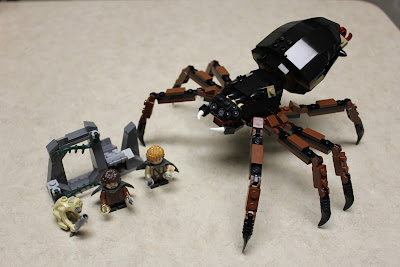 Sons of Twilight: Lego Lord of the Rings: Shelob Attacks