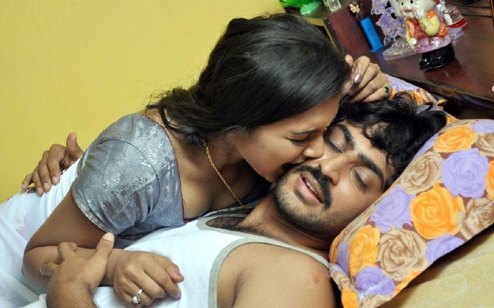 Actress deepthi in yugam tamil movie hot bed room stills for Hot bedroom photos