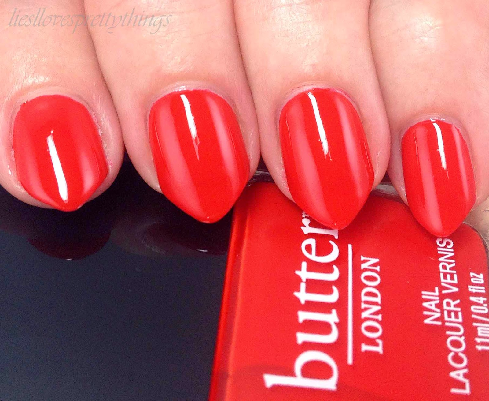 Butter London Ladybird swatch and review