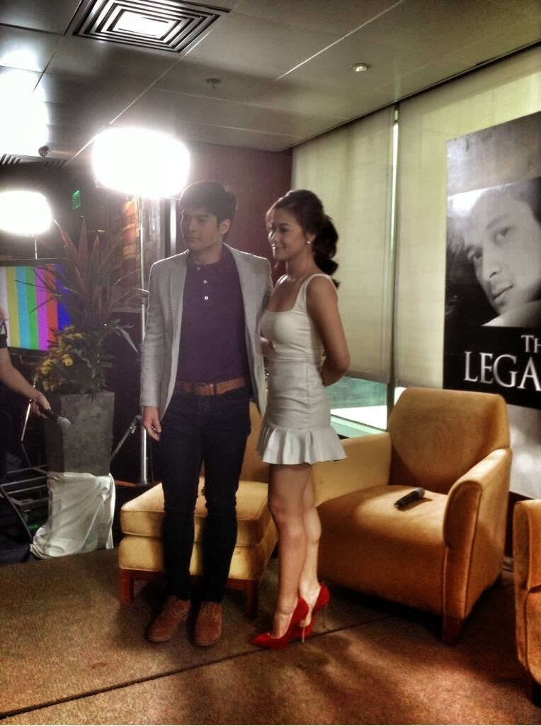 Maja Salvador's panty slip at Bloggers' Conference for The Legal Wife