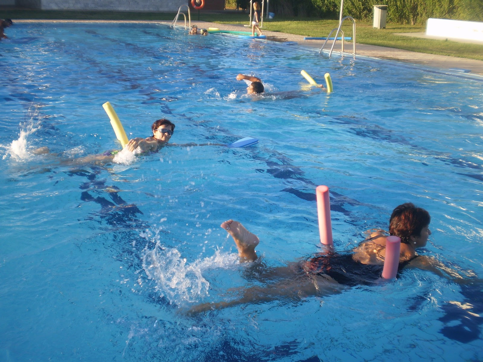 Marochos en la red clausura del curso de nataci n de adultos for Clases de natacion df