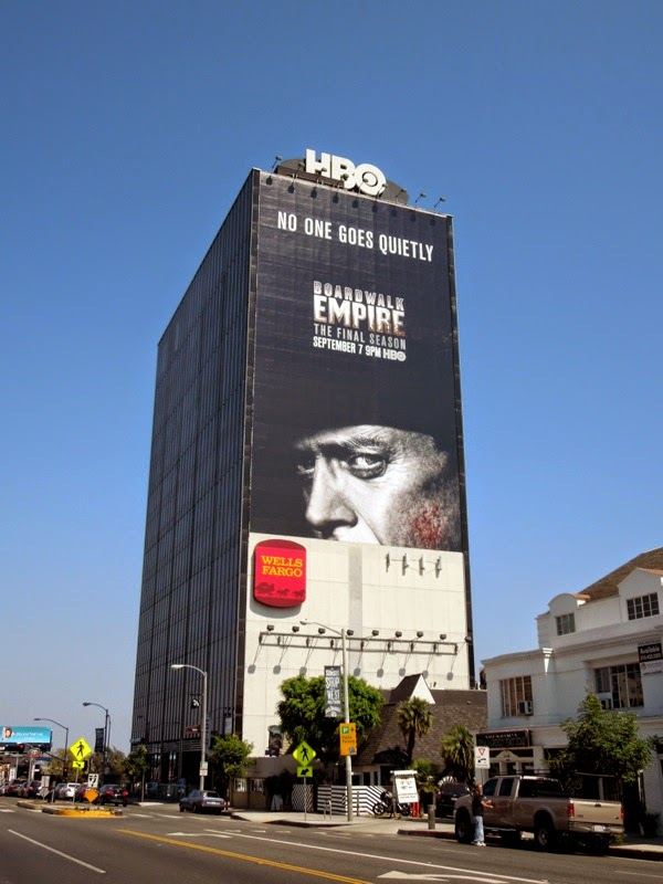 Giant Boardwalk Empire season 5 billboard