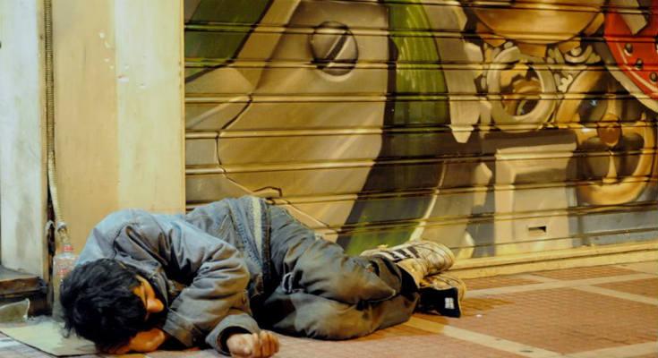 Έρευνα: Το 62% των αστέγων είναι Έλληνες