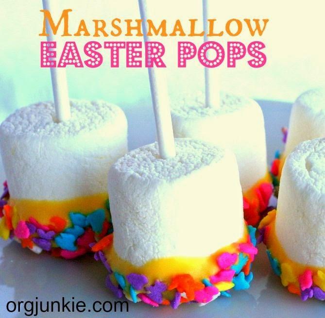 http://orgjunkie.com/2013/03/easy-marshmallow-easter-pops.html