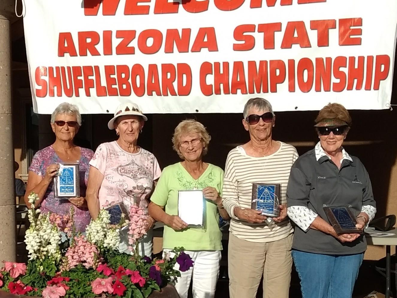 2018 Ladies Championship State Ladies Split Singles