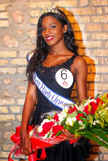 Miss Universe Haiti 2013 winner Mondiana J'hanne Pierre