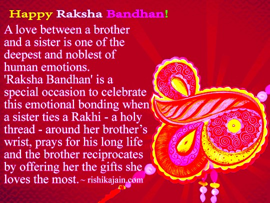 Happy Rakhi 2015 Quotes