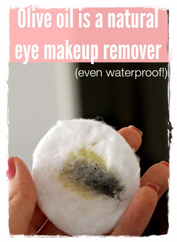 Beauty Hack #4: Use olive oil as eye makeup remover