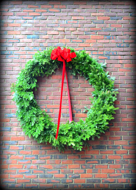 Brick, Wreath, Salem Post Office, Salem, Massachusetts