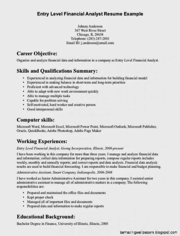Example cv human resources officer