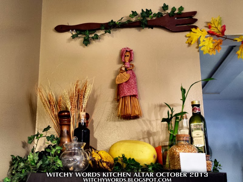 Witchy Words: Kitchen Altar