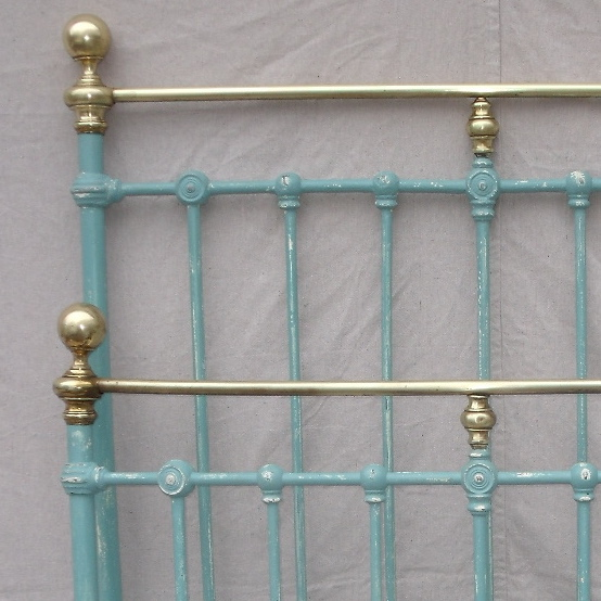 we cleaned her lovely brass fittings but left a little patina to make. Black Bedroom Furniture Sets. Home Design Ideas