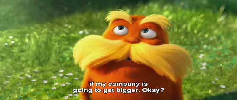 Screen Shot Of Hollywood Movie The Lorax (2012) In Hindi English Full Movie Free Download And Watch Online At 300Mb.cc