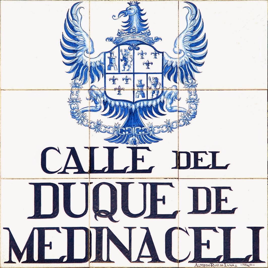 Calle del Duque de  Medinaceli