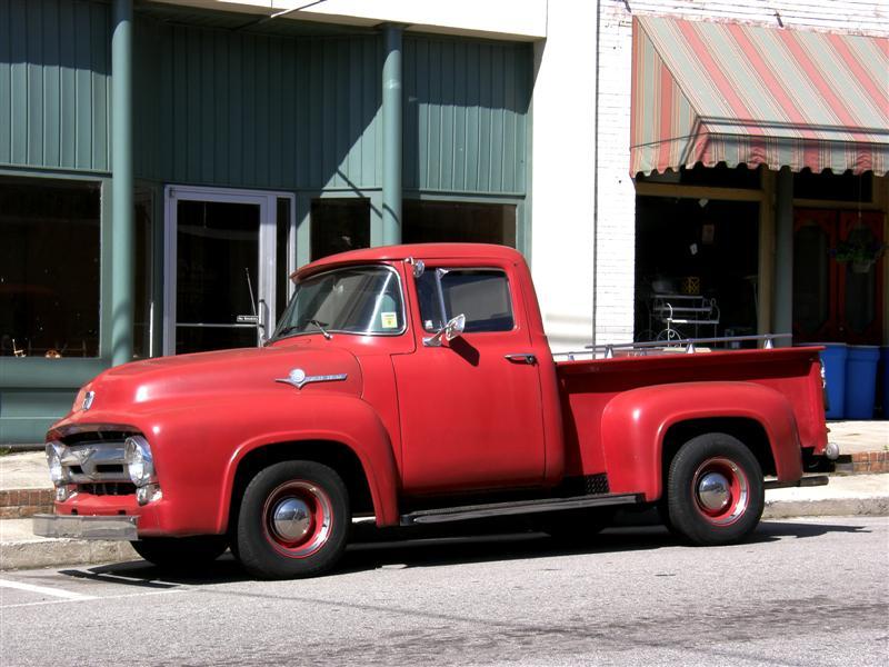 Los restauradores camioneta ford f100 quot 1953 1956 quot