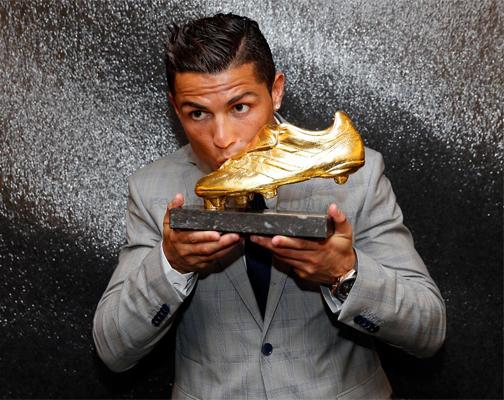Bota de Oro Cristiano Ronaldo