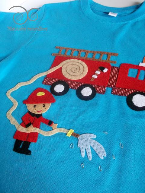 Camiseta Bomberos