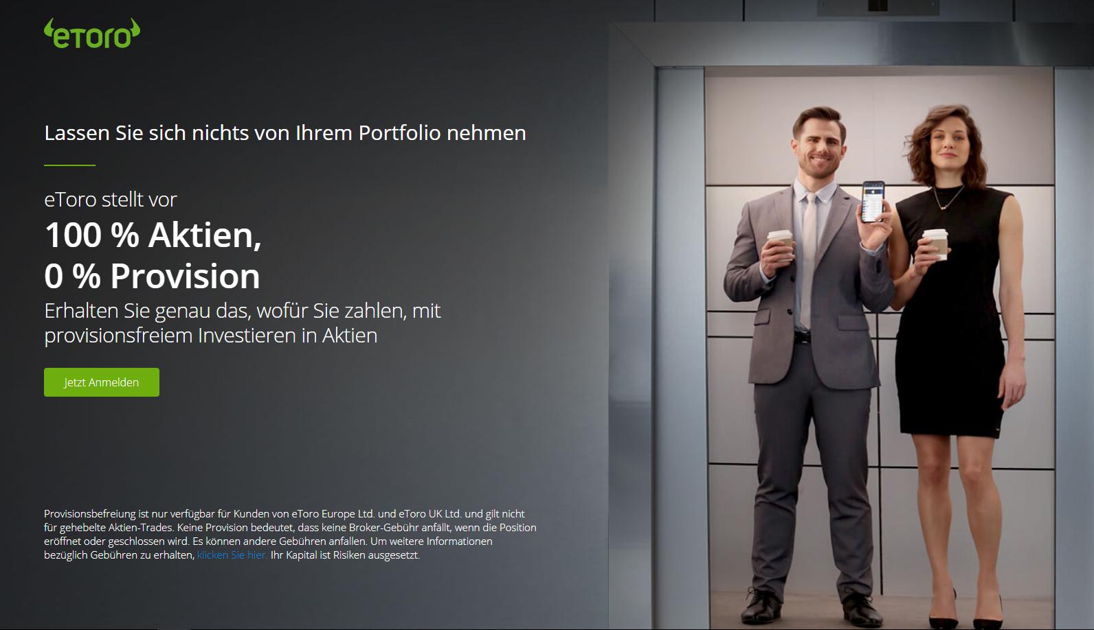 etoro - Werbelink - 75% der Kundenkonten verlieren Geld!