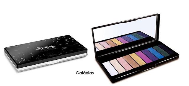 Coleção de maquiagem Star Wars - Paleta de Sombras Galáxia