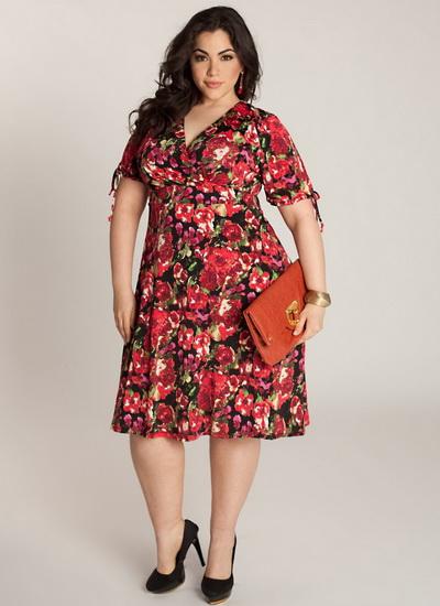 Женские платья летние для полных
