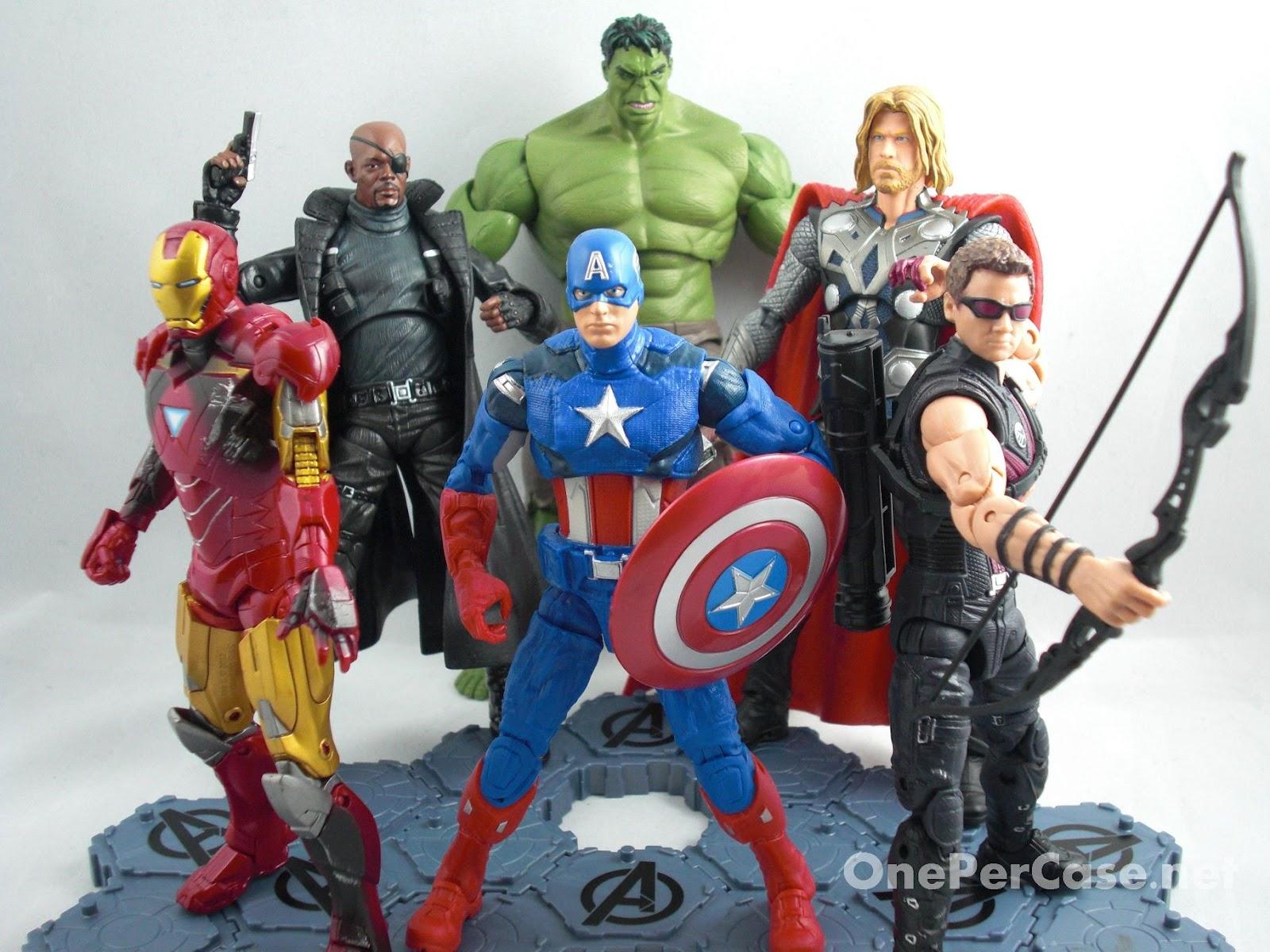 One Per Case: Avengers 6 Inch Captain America - Walmart ...