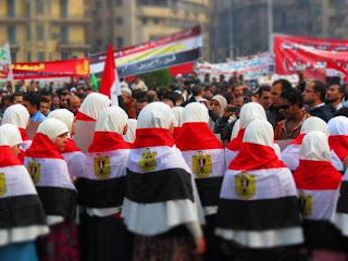 صورة رائعة تم إلتقاطها اليوم في ميدان التحرير