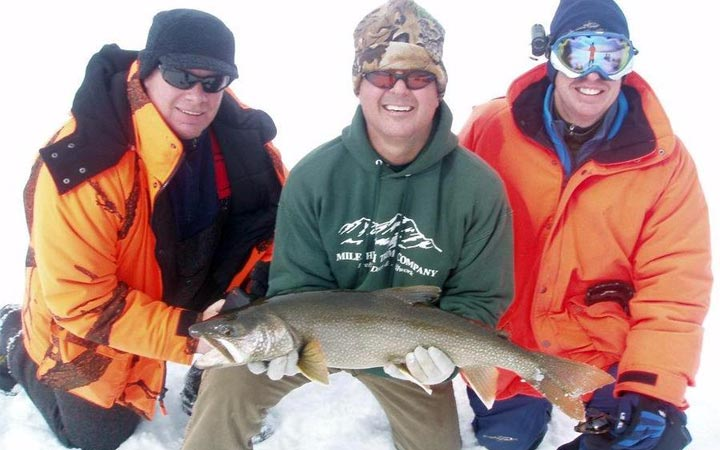 January Colorado Cold Ice Fishing Report with Bernie Keefe
