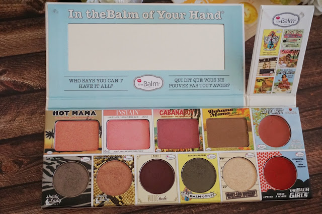 theBalm - In theBalm of Your Hand Review Swatch